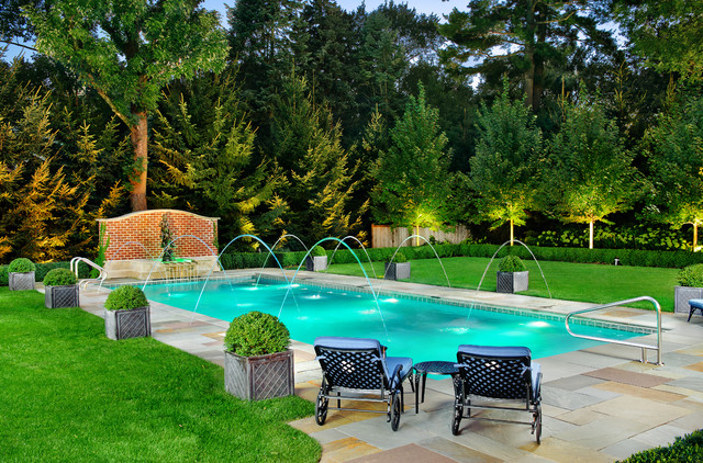 Chituk pools ltd for Jardin piscine deco
